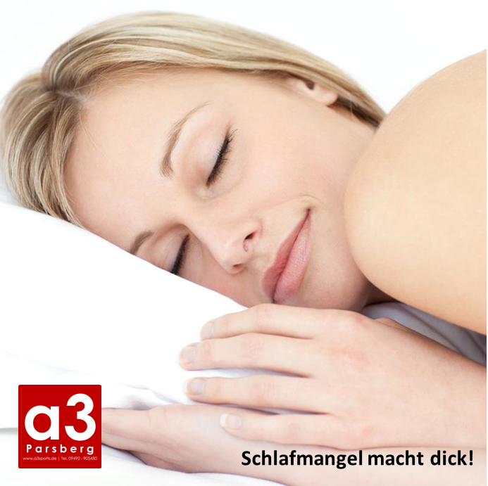 Schlaf dich schlank – 5 Gründe warum Schlafmangel dick macht!
