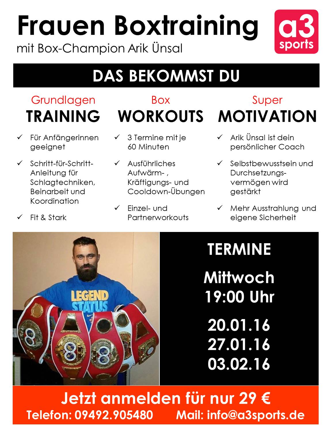 Frauen Boxtraining Jan2016