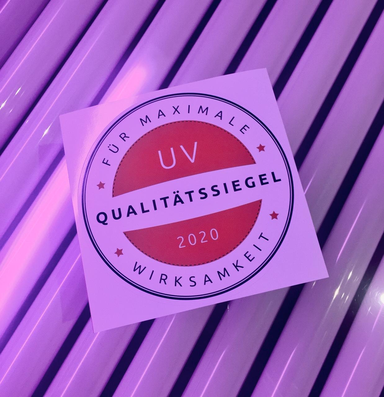 Solarium Zertifikat 2020