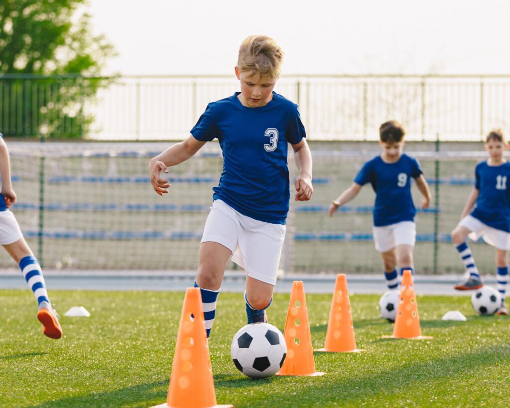 Skillcourt für Kinder